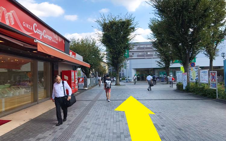 ふじみ野駅からの道順2