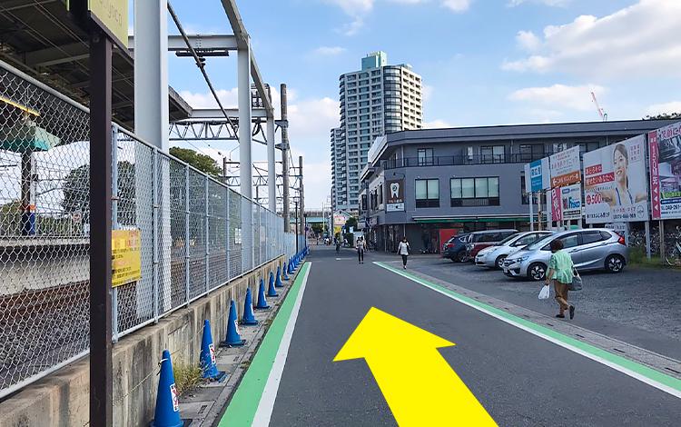 ふじみ野駅からの道順4