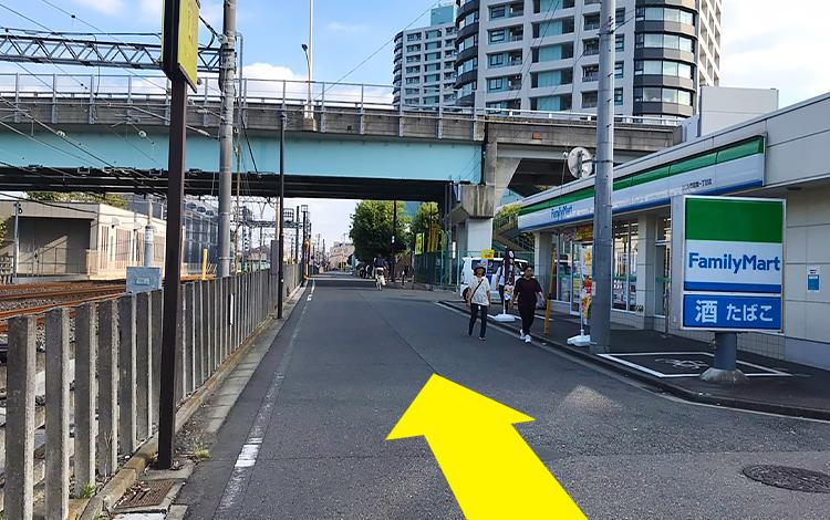 ふじみ野駅からの道順5