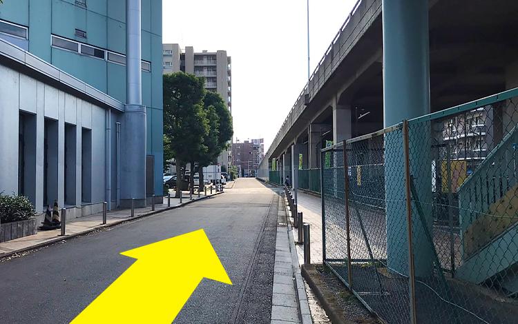 ふじみ野駅からの道順7